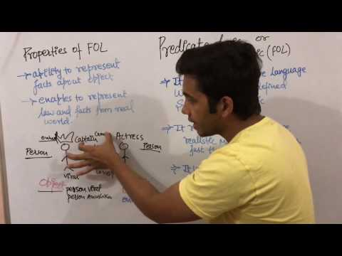 Artificial intelligence 25 Predicate Logic In ai |lecture | tutorial | sanjaypathakjec