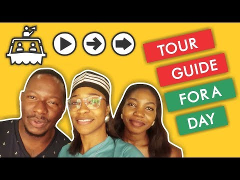 TOUR GUIDE FOR A DAY | Lagos Nigeria | Vlog 9