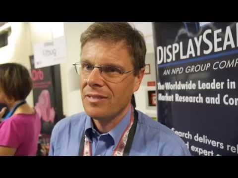 4K and Wearables Industry overview by Paul Gray of DisplaySearch