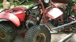 Honda Atc 5s Restoration Part Tires