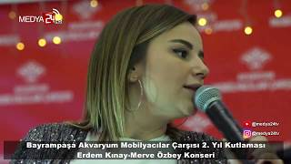 Bayrampaşa Akvaryum Merve Özbey & Erdem Kınay Konseri - Medya24 Video