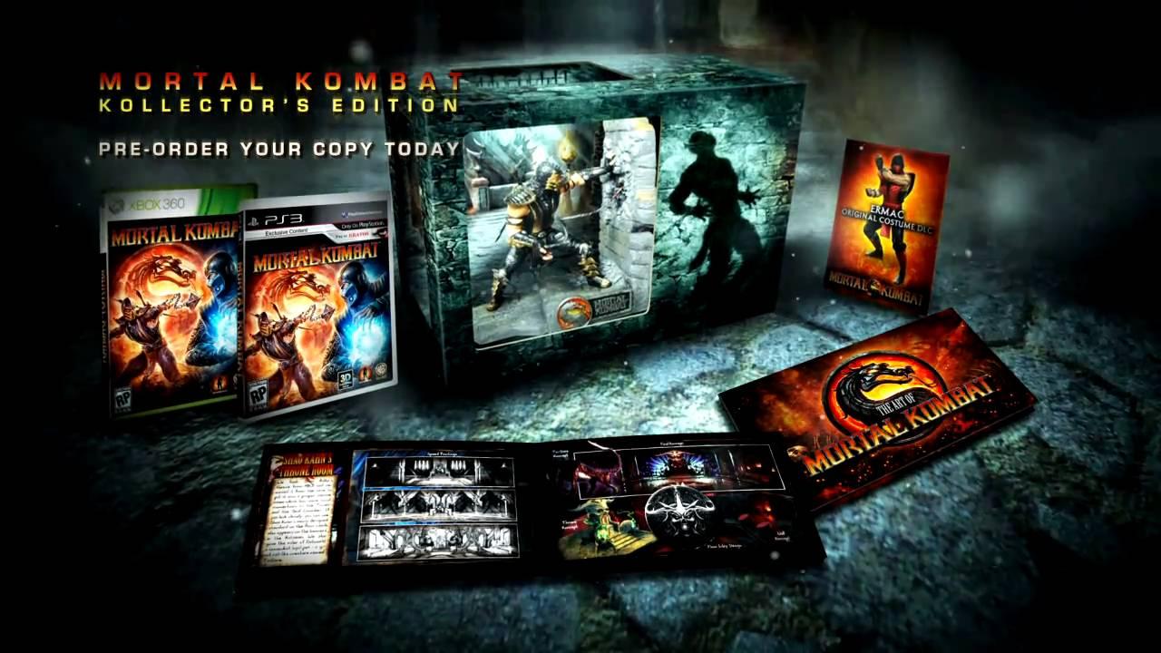 Mortal Kombat In Store Retail Advert Youtube