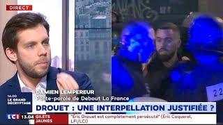 Damien Lempereur réagit à l'arrestation d'Eric Drouet sur LCI