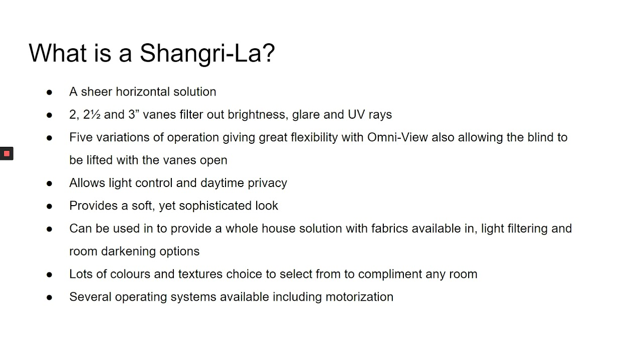 Product of the week -  Comfortex - Shangri-La Sheer Horizontals