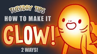Tuesday Tips: How to make it glow! (drawing tutorial)