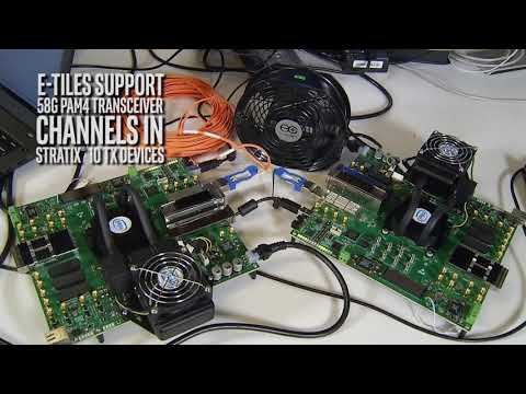 Intel® Stratix® 10 TX E-Tile Achieves 400G Connectivity with QSFP-DD Optical Modules