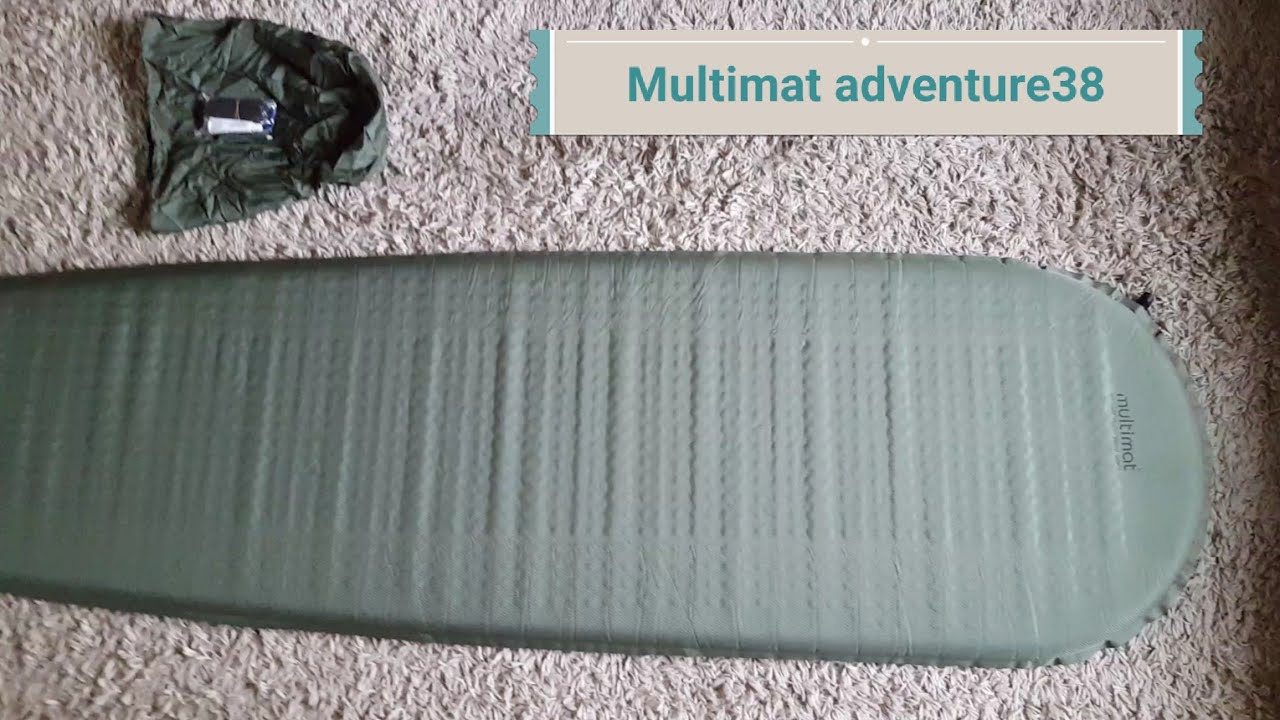 watch 07cd1 e9579 Multimat adventure 38 self inflating sleeping mat