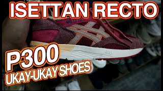 P300 UKAY SHOES ISETTAN RECTO