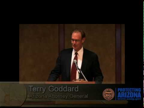 Terry Goddard Honored with Highest Award from Nation's Attorneys General