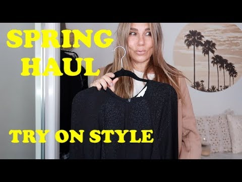 SPRING HAUL AND TRY ON 👗H&M - TK MAXX - AND OTHER RANDOM BITS | THE JO DEDES AESTHETIC