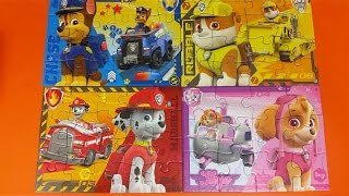 Paw Patrol Ravensburger Puzzle  Chase, Marshall, Rubble, Skye  Psi Patrol puzzle