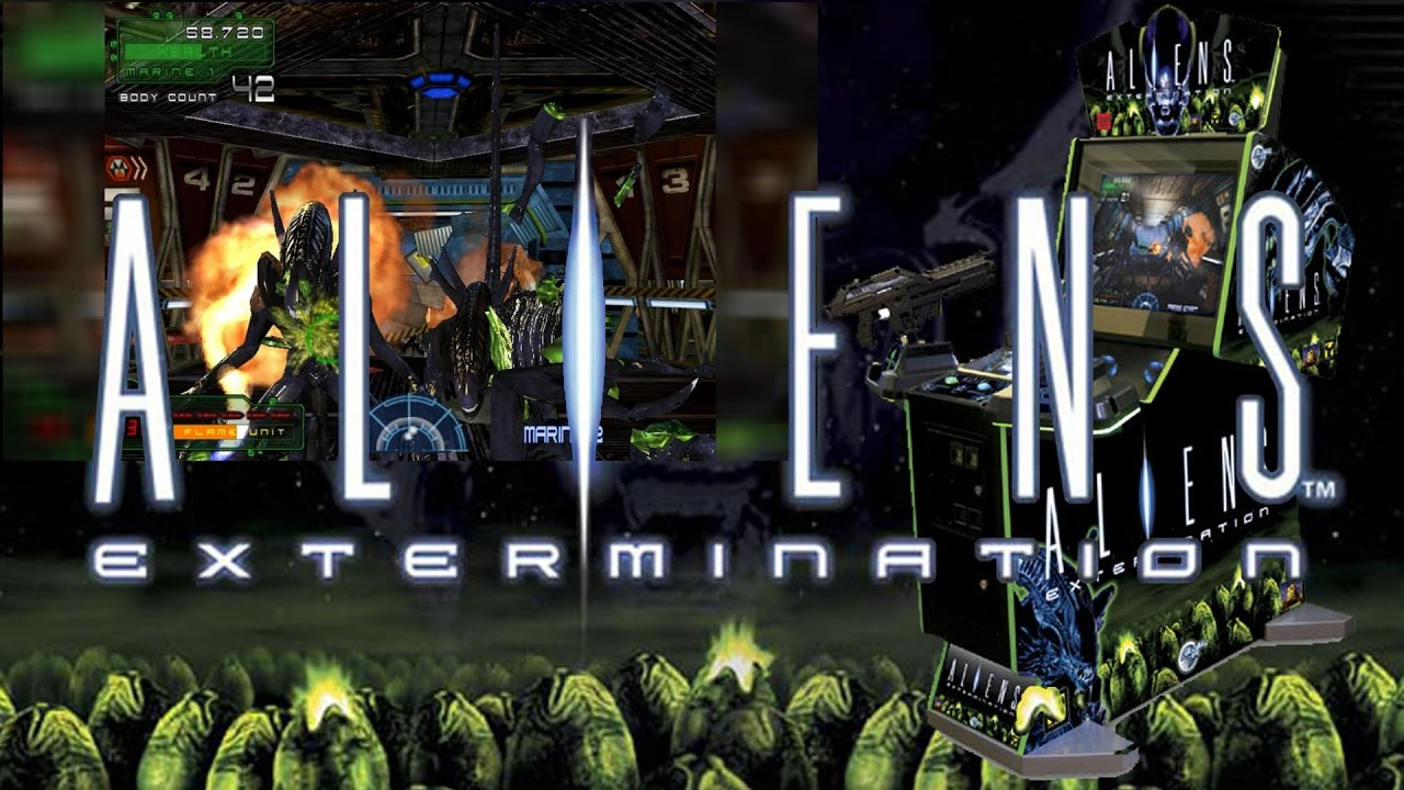 Aliens Extermination (Arcade - Global VR) working on PC - Mission 1