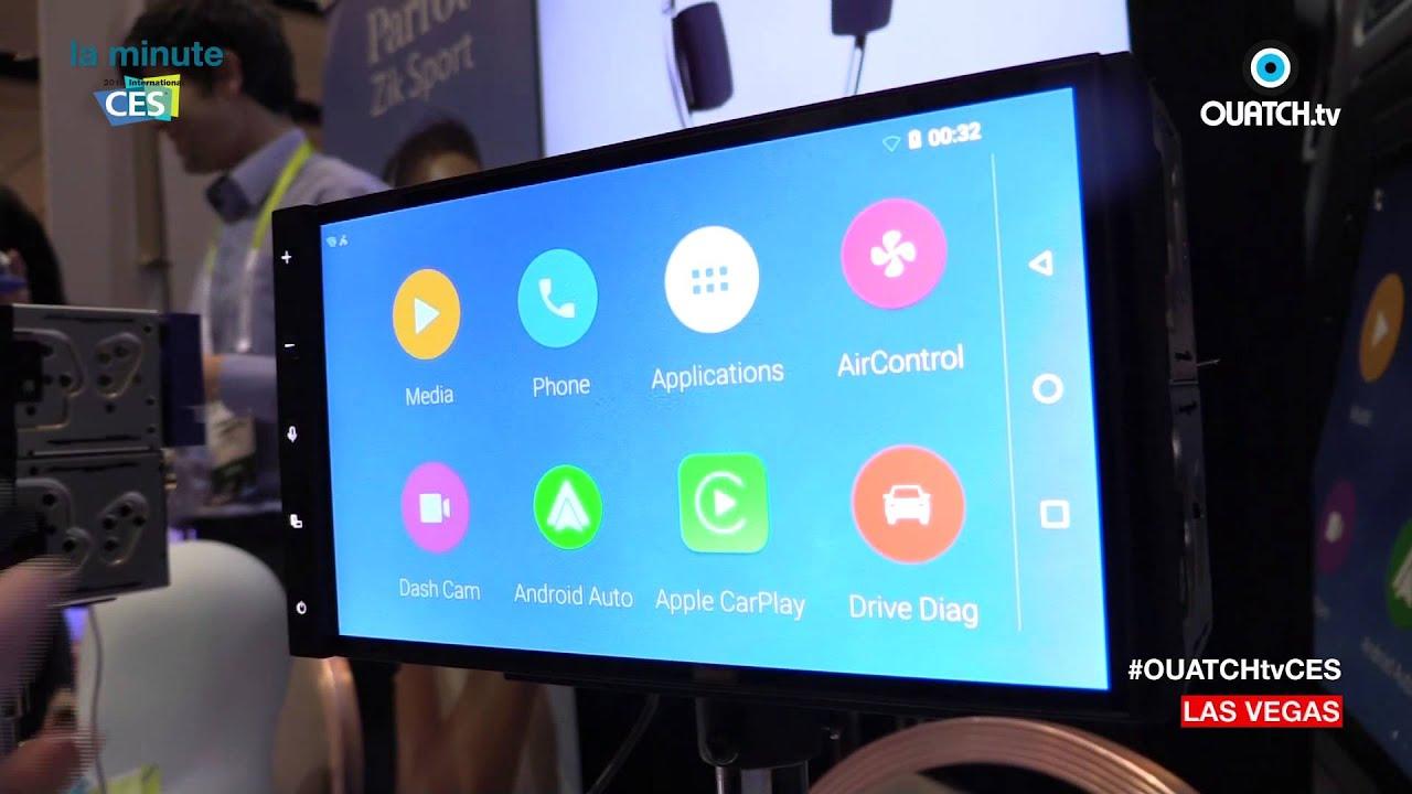 la minute ces s02e13 parrot rnb6 l 39 autoradio sous android 5 0 lolipop youtube. Black Bedroom Furniture Sets. Home Design Ideas