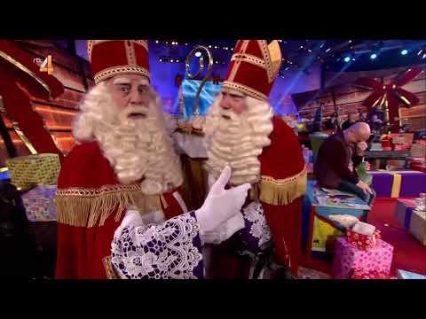 Sinterklaas ontmoet Sinterklaas bij Paul de Leeuw (2018)