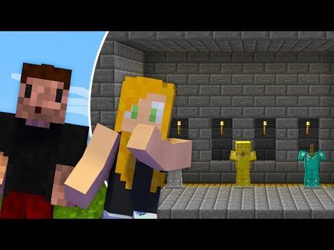 NASZA TAJNA ZBROJOWNIA - Minecraft Survi 1.13 | AGU i ZIO