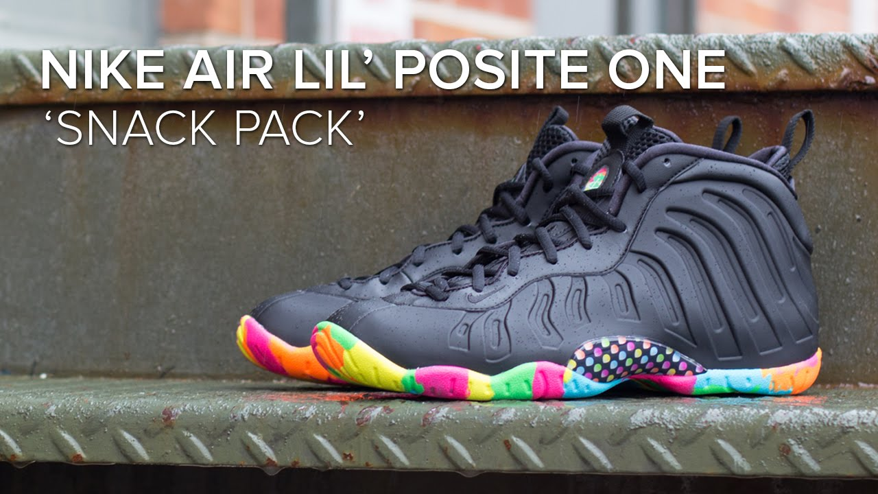 new concept b5495 45d59 Nike Air Lil  Posite  Snack Pack  Quick On Feet Review