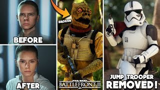 Battlefront 2 just made 10 BIG CHANGES without telling us - Some Good, Some BAD... All Star Wars!