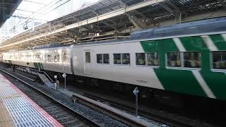 JR東日本 踊子 185系 東京駅