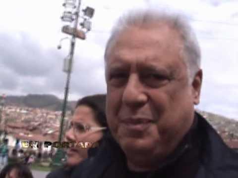 Antonio Fagundes en Cusco