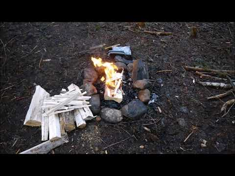 Making Fire With Magnesium Shavings