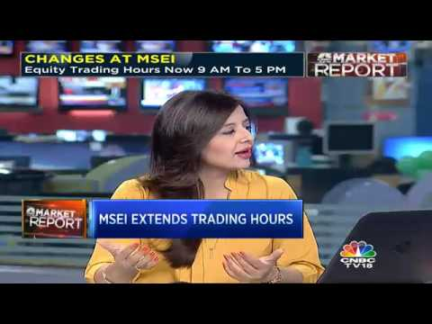 MSEI Extends Trading Hours