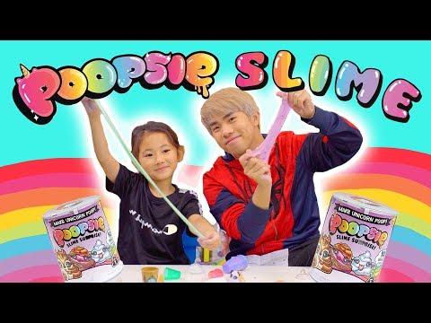 Rare Unicorn Slime!? (Poopsie Slime Surprise)