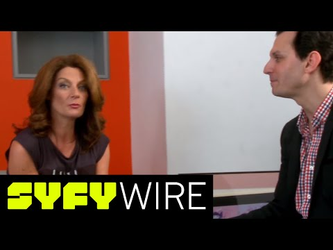 Michelle Gomez Talks Doctor Who Season 9, and River 's Hair  Celebrity   SYFY WIRE