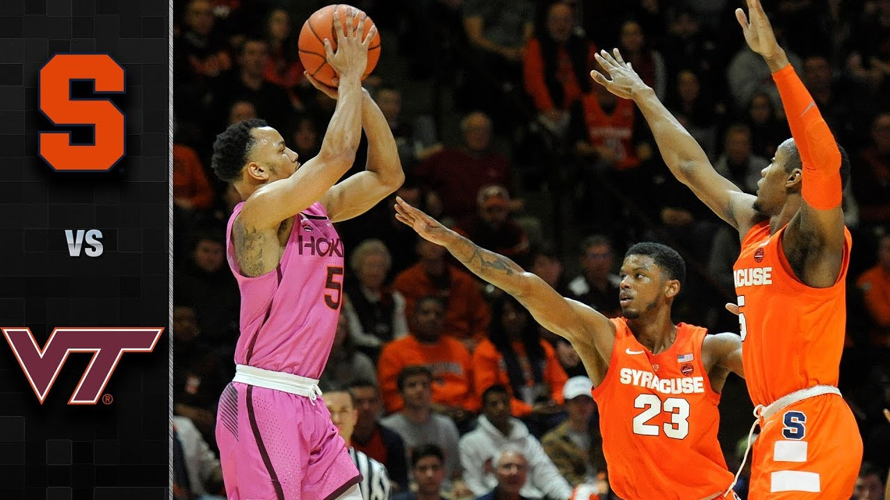 Syracuse Vs Virginia Tech Basketball Highlights 2018 19 Youtube