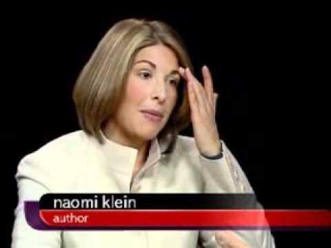 Naomi Klein - Charlie Rose Interview