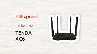 AliExpress - Router Tenda AC6 - Unboxing