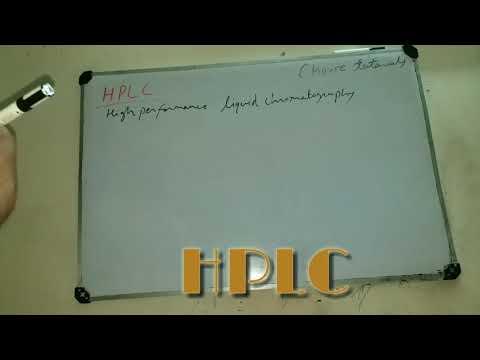 HPLC AND LIQUID CHROMATOGRAPHY
