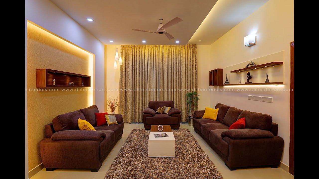 Villa Interiors at Eroor Ernakulam  DLIFE Home