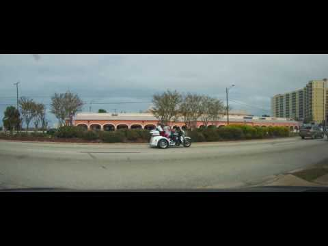 Driving on US 1 from South Daytona to Port Orange, Florida