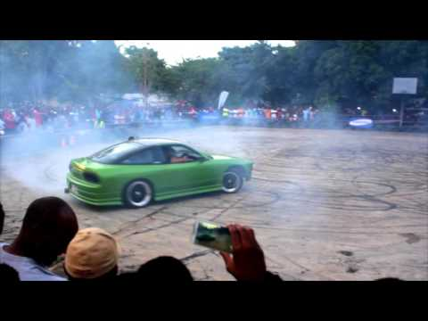Tecno Drift Zambia at The Kings of Drift vs Spin Event