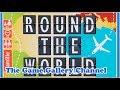 【ボードゲーム レビュー】「Round The World」- 素早く世界旅行をこなそう
