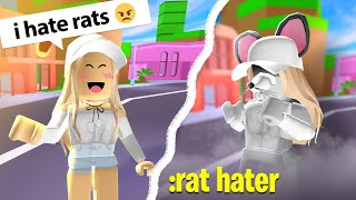 TURNING PEOPLE INTO RATS UNITED (Roblox Admin)