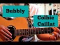 Bubbly Colbie Caillat Guitar Tutorial mp3