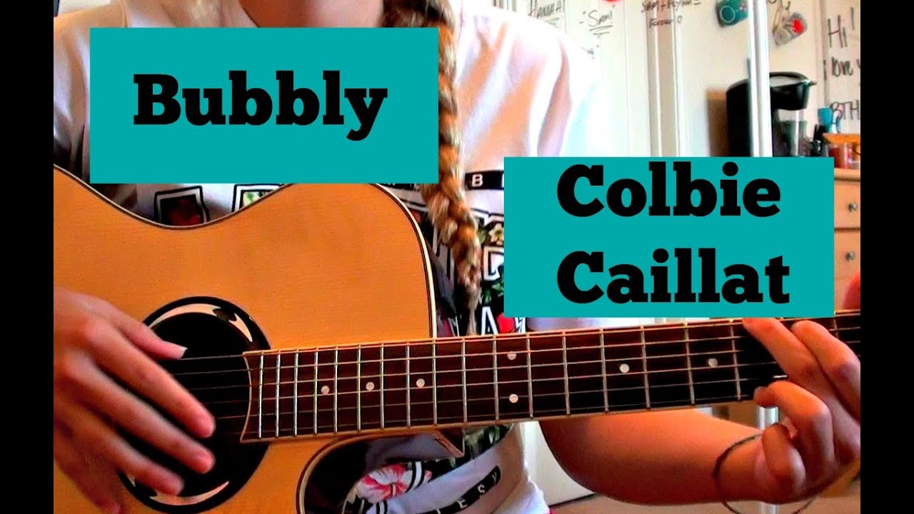 Bubbly Colbie Caillat Guitar Tutorial Youtube