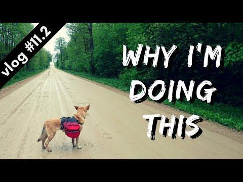 7-DAY HIKING TRIP DAYS 2-3 // Hiking Through Estonia vlog #11.2
