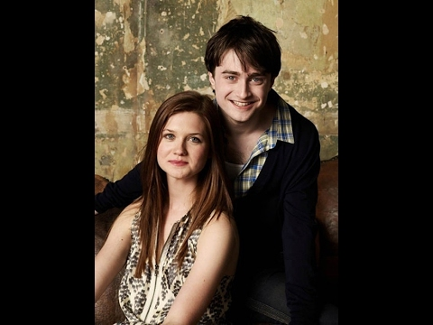A Harry Potter Reunion Between Daniel Radcliffe and Bonnie Wright