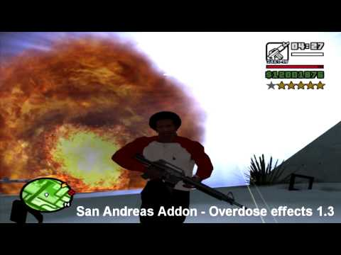 GTA  San Andreas Overdose Effects Installation Hilfe & Download - HD Sprachfassung By OndyTHX