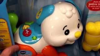 "Vtech ""shake & Sounds Learning Pup"" Toddler Laugh & Learn Puppy Dog Toy / Toy Review"