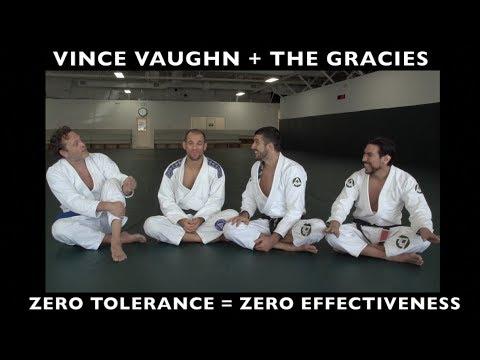 """Vince Vaughn + The Gracies on How """"Zero Tolerance"""" HELPS Bullies!"""