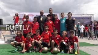 Bulgaria: Former Barca star Stoichkov shares football 'tricks' at book presentation