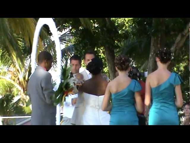Jameika RIU Palace Tropical Bay Hochzeit Heiraten am Strand im Luxushotel mit Sonnenuntergang