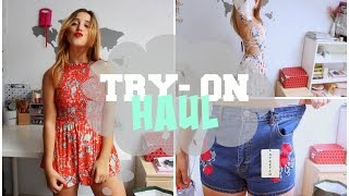 MEGA TRY-ON HAUL | Zara, Bershka, Romwe, Shein, Na-kd, Tidebuy...
