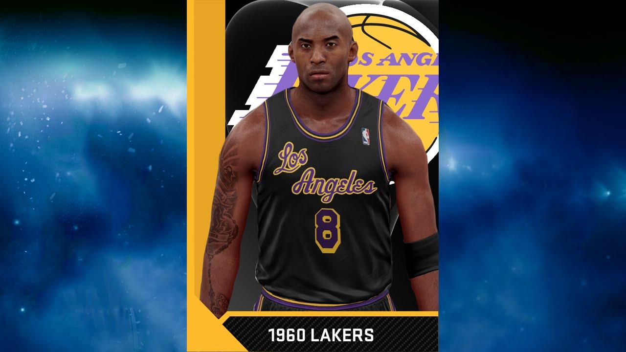 reputable site 0c212 45761 NBA 2K16 1960 LA Lakers Jersey & Court Tutorial – NBA 2K20