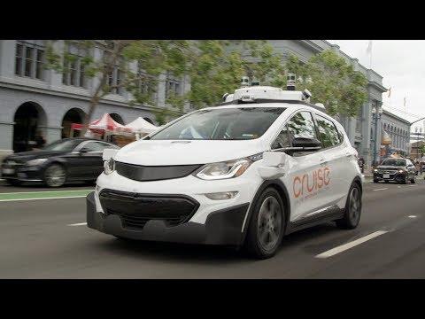 Chevrolet Bolt Autonomous Vehicle In San Francisco | GM Cruise AV