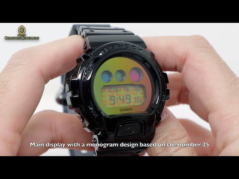 UNBOXING G-SHOCK TRANSPARENT RAINBOW SKELETON 25TH ANNIVERSARY DW6900SP-1