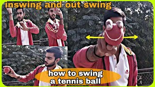 how to swing a tennis ball in both directions- tennis ball tips and tricks. sports yard